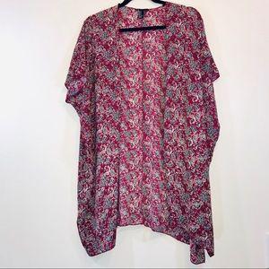 Forever 21 Tops - Forever 21 Paisley Kimono - #1375